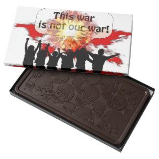 Your Custom Skulls Dark Chocolate 2 Pound Bar