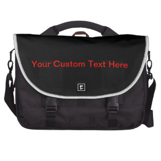 Your Custom Text Here Laptop Bags