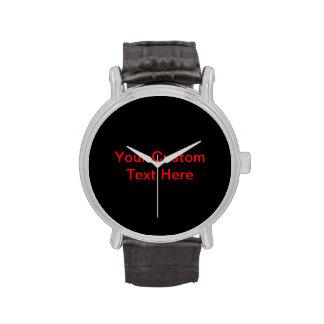 Your Custom Text Here Wristwatch