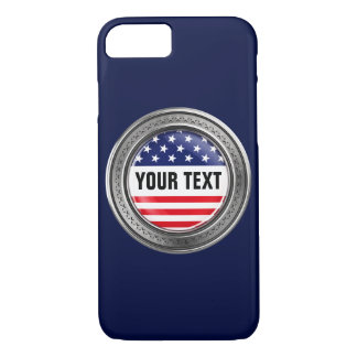 Your custom USA Button iPhone 7 Case