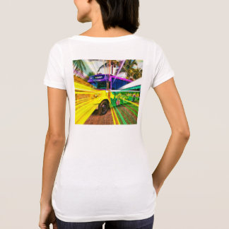 Your Custom Women's American Apparel Poly-Cotton S T-Shirt
