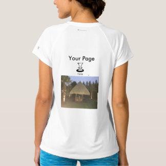 Your Custom Women's Champion Double-Dry V-Neck T-S T-Shirt