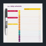 "Your Daily Schedule Dry Erase Board<br><div class=""desc"">Your Daily Schedule Dry Erase Board</div>"