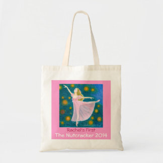 Your Dancer's First Nutcracker Clara Tote Canvas Bags