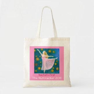 Your Dancer's First Nutcracker Clara Tote Budget Tote Bag