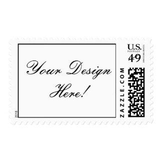 Your Design Here! Custom Wedding Postage Stamp
