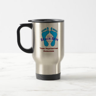 Your Destination on Authentic Beach Bum Beach Wear 15 Oz Stainless Steel Travel Mug