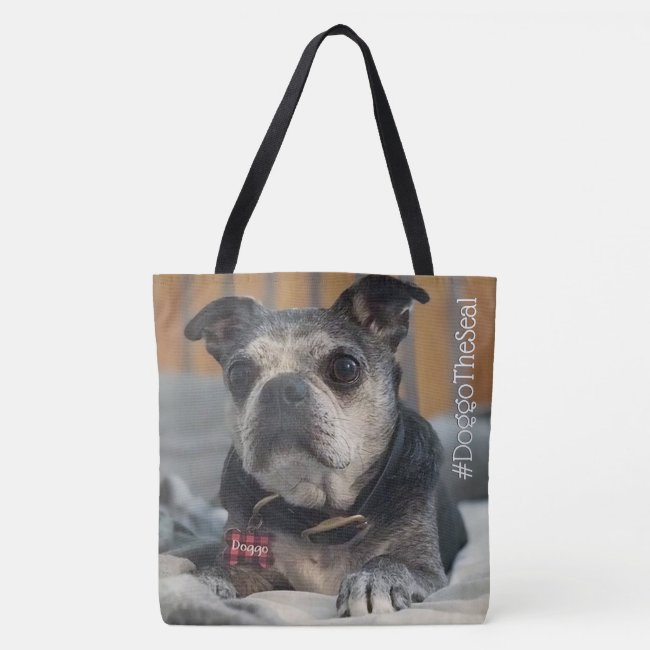 Your Dog and His Hashtag Personalized Doggy Bag