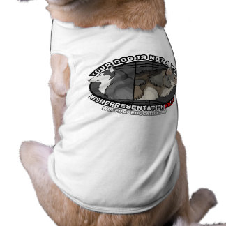 Your Dog is Not a Wolf Shirt