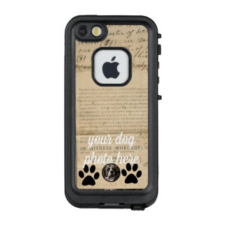Your Dog Photo n Paws 1860 Legal Document Funny LifeProof FRĒ iPhone SE/5/5s Case