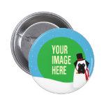 YOUR DOG Snowdog Button