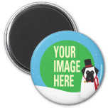YOUR DOG Snowdog Magnet