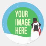 YOUR DOG Snowdog Sticker