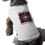 Your Dog wishes Happy Holidays: Template Dog Clothes