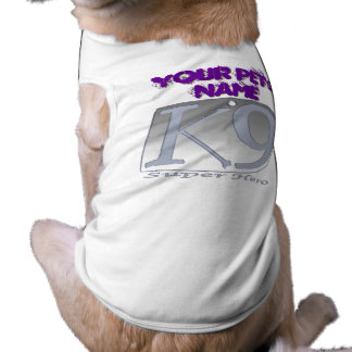 Your Doggie K-9 Super Hero Tee