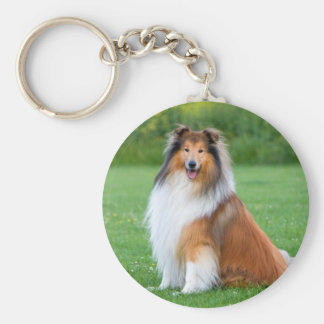 Your dogs photo custom keychain