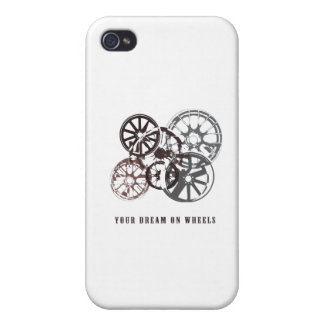Your dream on wheels iPhone 4 cover