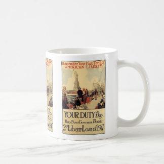"""Your Duty"" - 2nd Liberty Loan Coffee Mug"