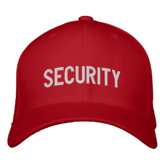 Your Event Security Hat Red