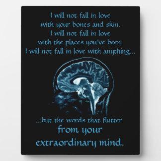 Your Extraordinary Mind Plaque