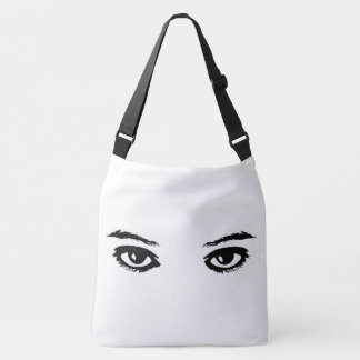 Your eyes crossbody bag