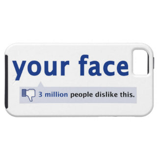 your face iPhone 5 Case