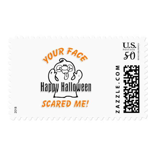 Your Face Scared Me Postage