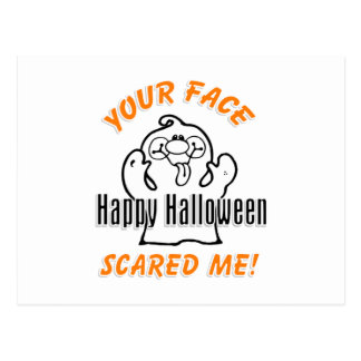 Your Face Scared Me Postcard