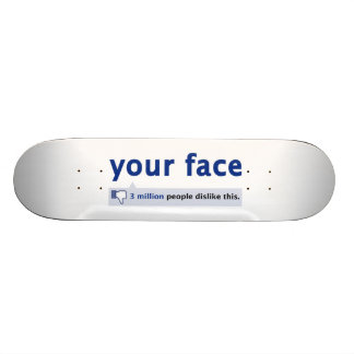 your face Skateboard Pro