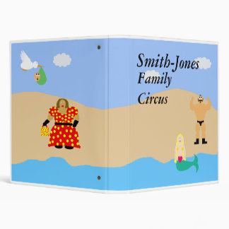 Your Family Circus 3 Ring Binder