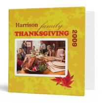 Your Family Thanksgiving Binder binders