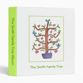 Your Family Tree Binder! 3 Ring Binders