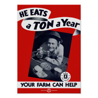 Your Farm Can Help -- WW2 Poster