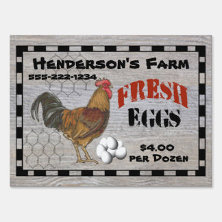 Your Farm Fresh Eggs Sign