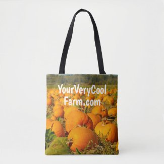 Your Farm's Image and Url on Tote Bag