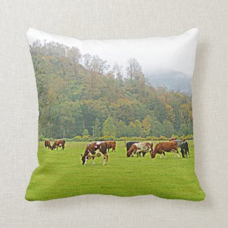 Your farm's image on throw pillow