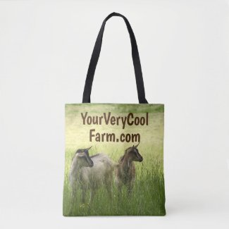 Your Farm's Image & Url on  Tote Bag