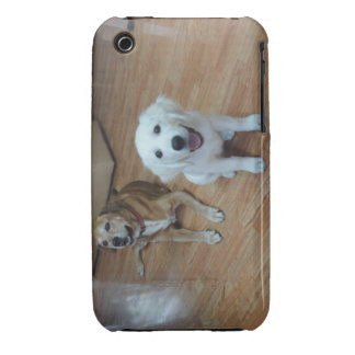 Your favorite dog photos on a cell phone case iPhone 3 case