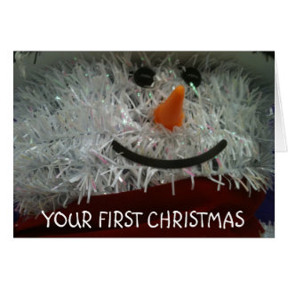 YOUR FIRST CHRISTMAS CARDS