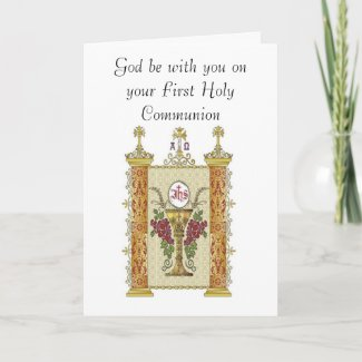 Your First Holy Communion