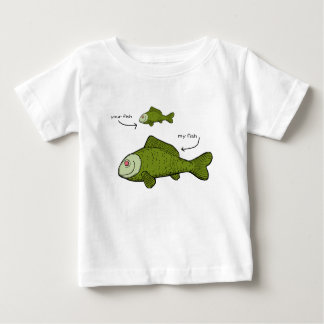 Your Fish. My Fish. Size Matters?! Baby T-Shirt