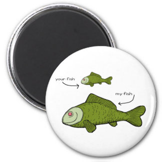 Your Fish. My Fish. Size Matters?! Magnet