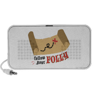 Your Folly Laptop Speakers