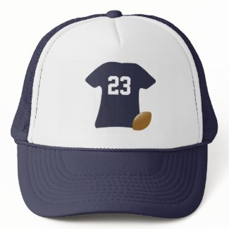 Your Football Shirt With Ball Trucker Hats