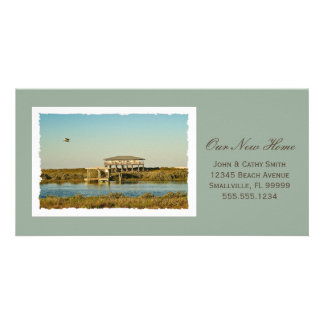 Your Framed New Home Photograph Custom New Address Card