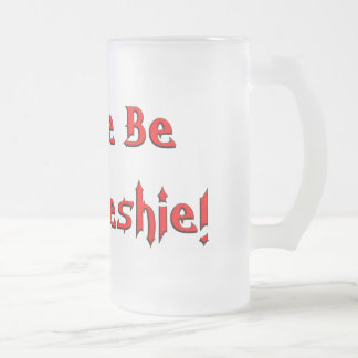Your Freshie 16 Oz Frosted Glass Beer Mug