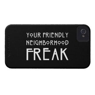 Your Friendly Neighborhood Freak iPhone 4 Case