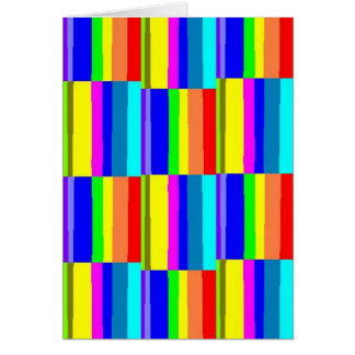 Your friendship colors my world! card