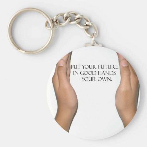 Your Future (female version) Key Chains