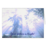 Your future is bright - graduation greeting cards